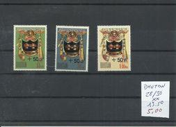 BHUTAN YVERT 28/30  MNH  ** - Invierno 1976: Innsbruck