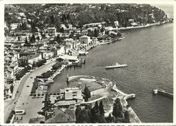 Intra (Verbano, Piemonte) Lago Maggiore, Veduta Aerea, Aerial View, Vue Aerienne, Luftansicht - Verbania