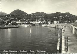 Verbania Intra (Verbano, Piemonte) Lago Maggiore, Scorcio Panoramico Del Porticciolo - Verbania