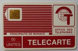 MONACO - 1st Issue - Impact - Chip - Early PYJAMA - 50 Units - Impact - 0575 - Used - Monaco