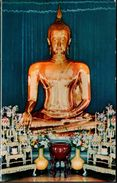 ! 1967 The Golden Buddha Of Sukkhothai In Wad Traimitra Withayaram Worawiham, Thailand, Perth - Thailand