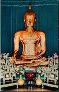 ! 1967 The Golden Buddha Of Sukkhothai In Wad Traimitra Withayaram Worawiham, Thailand, Asia, Asien, Perth - Thaïland
