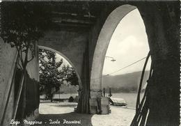 Isole Borromee (Verbano, Piemonte) Lago Maggiore, Isola Pescatori, Porticato - Verbania