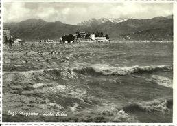 Isole Borromee (Verbano, Piemonte) Lago Maggiore, Isola Bella E Acque Del Lago Agitate - Verbania