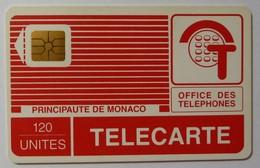 MONACO - 1st Issue - Impact - Chip - Early PYJAMA - 120 Units - Impact - 0565 - Used - Monaco
