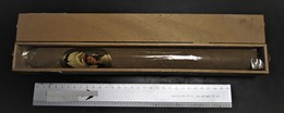 GEEL G - COGETAMA BIG BEN - SIGAAR DE 33 CM EN BOITE EN BOIS - CIGAR OF 33 CM IN WOODEN BOX - Caves à Cigares Vides
