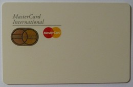USA - Smart Demo - MasterCard - Custom Contact - John Tunstall - Rare - Credit Cards (Exp. Date Min. 10 Years)