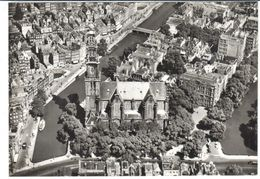 POSTAL   AMSTERDAN  -HOLANDA  - IGLESIA OCCIDENTAL  ( L'EGLISE DU QUARTIER  OUEST WESTERKIRCHE -WESTERN CHURCH ) - Amsterdam