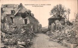 80 MONTDIDIER APRES LA GRANDE GUERRE LA RUE JEAN DUPUY  PAS CIRCULEE - Montdidier