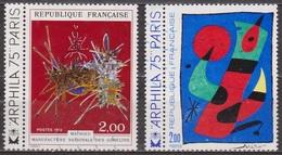 Artisanat, Peinture - FRANCE - Tableau De Joan Miro - Tapisserie De Mathieu - N° 1811-1813 - 1974 - France