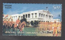 India   2009  Tamilnadu Police  Stamp  MNH   #   02737  D  Inde Indien - Police - Gendarmerie