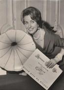 Danielle DARRIEUX Récompensée Par L'académie Charles CROS -  19 Mars 1960 , Agence Keystone- 130x180 - Famous People