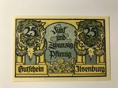 Allemagne Notgeld Ilsenburg 25 Pfennig - [ 3] 1918-1933 : République De Weimar