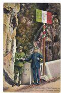 Grimaldi-Ventimiglia - Ponte San Luigi. Frontiera Italiana - Imperia