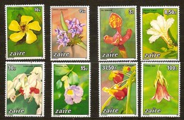 Zaire OCBnr. 1231-38 *** MNH Fleurs Bloemen Flowers Cote 16 Euro - 1980-89: Ongebruikt