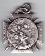 Journée Du Poilu 1915. Au Verso 25-26 Décembre. En Argent. Signé. SM. - Armée De Terre