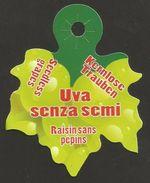 # UVA SENZA SEMI - SEEDLESS TABLE GRAPE Type2 Italy Fruit Tag Balise Etiqueta Anhänger Cartellino Uva Raisin Uvas Traube - Fruits & Vegetables