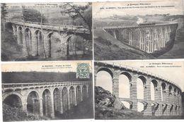 10264- 22 - ST BRIEUC : Lot De 4 CPA , Viaduc - Postkaarten