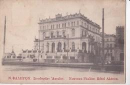 Post Card : Phalère (Grèce) Nouveau Phalere Hotel Akteon     Assez    Rare - Griekenland