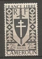CAMEROUN - Yv. N° 257   *  2f  Série Londres Cote  0,8 Euro  BE 2 Scans - Cameroun (1915-1959)