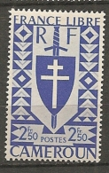 CAMEROUN - Yv. N° 258   *  2f 50 Série Londres Cote  0,8 Euro  BE 2 Scans - Cameroun (1915-1959)
