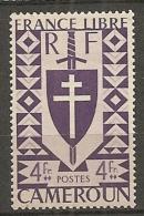 CAMEROUN - Yv. N° 259   *  4f Série Londres Cote  0,9 Euro  BE 2 Scans - Cameroun (1915-1959)