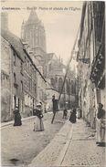 Coutances - Rue St-Pierre Et Abside De L'Eglise - Coutances