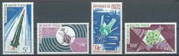 Haute-Volta Poste Aérienne YT N°36/39 Satellites Français Neuf ** - Haute-Volta (1958-1984)