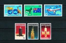 Islas Christmas  Nº Yvert  179/81-182/4  En Nuevo - Christmas Island