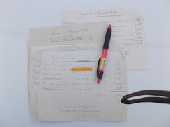 GENDARMERIE CHASSENEUIL CHARENTE VENTE DU FUMIER Des Chevaux PAR GENDARMES Nommés 1880 1882 Signé Brigadier - Police & Gendarmerie