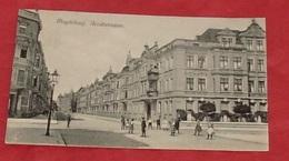 Magdeburg . Arndtstrasse :: Tampon 1908 ::: Animation    --------- 439 - Magdeburg