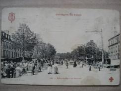 VAL DE MARNE  94      ALFORTVILLE    -   LE MARCHE       TRES  ANIME    ROUSSEURS - Alfortville