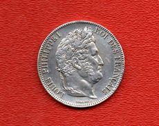 5 Francs Argent Louis Philippe 1832 - J. 5 Francos