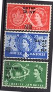1957 Jamboree Complete Set MH Very Fine (99) - Qatar
