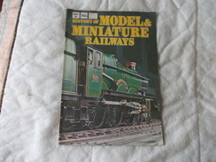 History Of Models Miniatures Railways Train Part 39 Meccano - Books On Collecting