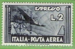 MiNr.28 Xx  Deutsches Reich Laibach - Occupation 1938-45