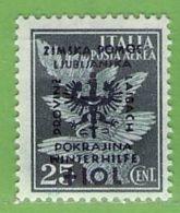 MiNr.39 X  Deutsches Reich Laibach - Occupation 1938-45