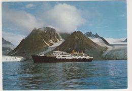 AK CP  Norwegen Norge Svalbard Hurtigruten I Magdalenefjorden - Normalformat - Norvège