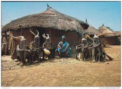 K'Natchim Seance De Meditation Dance Tribal Ethnic TRIBE TRIBU Grand Format CPA Postkaart TOGO Afrika Africa Afrique - Togo