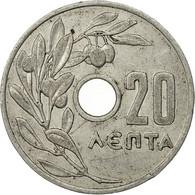 Grèce, 20 Lepta, 1959, TTB, Aluminium, KM:79 - Grèce