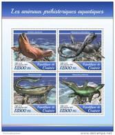 Guinea Guinee 2017 Fauna Prehistoric Water Animals - Guinea (1958-...)