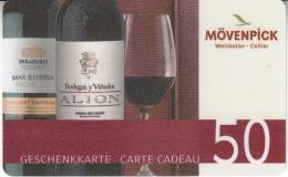 Gift Card Switzerland Mövenpick 2 Bottles 50- - Cartes Cadeaux