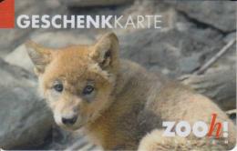 Gift Card Switzerland Zoo Petit Renard - Gift Cards