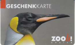 Gift Card Switzerland Zoo King Penguin - Gift Cards