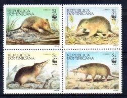 Dominican Republic - 1994 - WWF/Haitian Solenodon - MNH - Dominicaine (République)