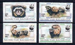 Kazakhstan - 1997 - WWF/Marbled Polecat - MNH - Kazakhstan