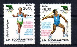 "Somalia - 1987 - ""Olymphillex 87"" Olympic Stamp Exhibition - MNH - Somalie (1960-...)"