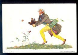 Helmut Skarbina - Jeder Jagt Nach Seinem Gluck / Postcard Not Circulated, 2 Scans - Skarbina, Helmut