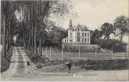 Environs De Douai - Avenue Et Villa De Gueulzin - Douai