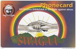 SWAZILAND(chip) - SWAGAA 1, Exp.date 31/03/02, Used - Swaziland